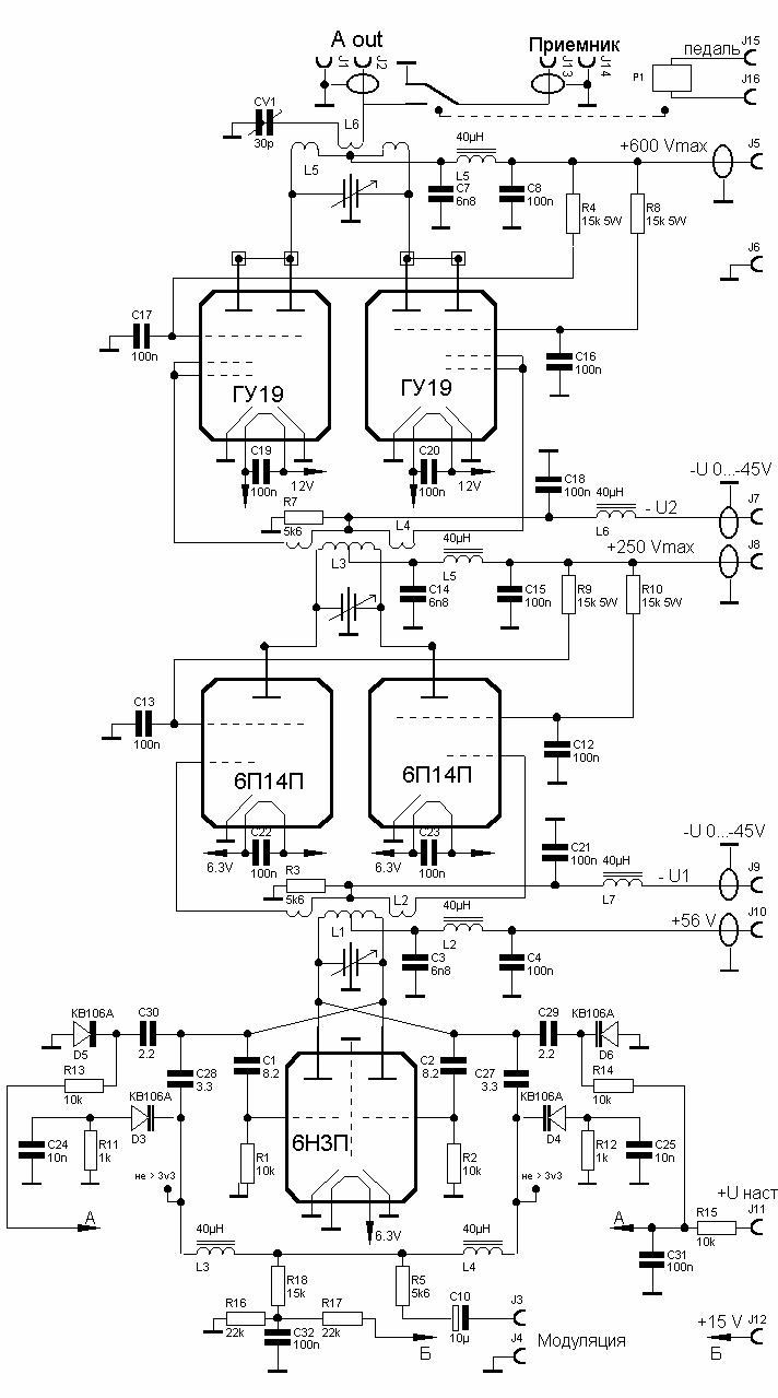 антенна для мощных кв передатчика - Лучшие схемы в быту.