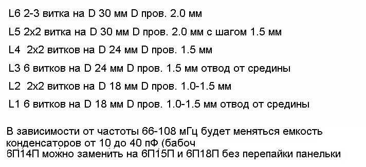 Схема передатчика.