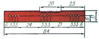 индикатор на принципиальной схеме