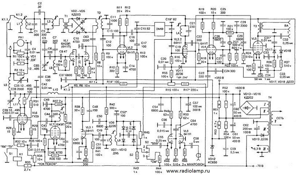 Например в альбатроса 160 ламповом, мой основной аппарат, именно так и сделанно.  Автор.
